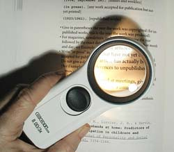Illuminated Pocket Magnifier
